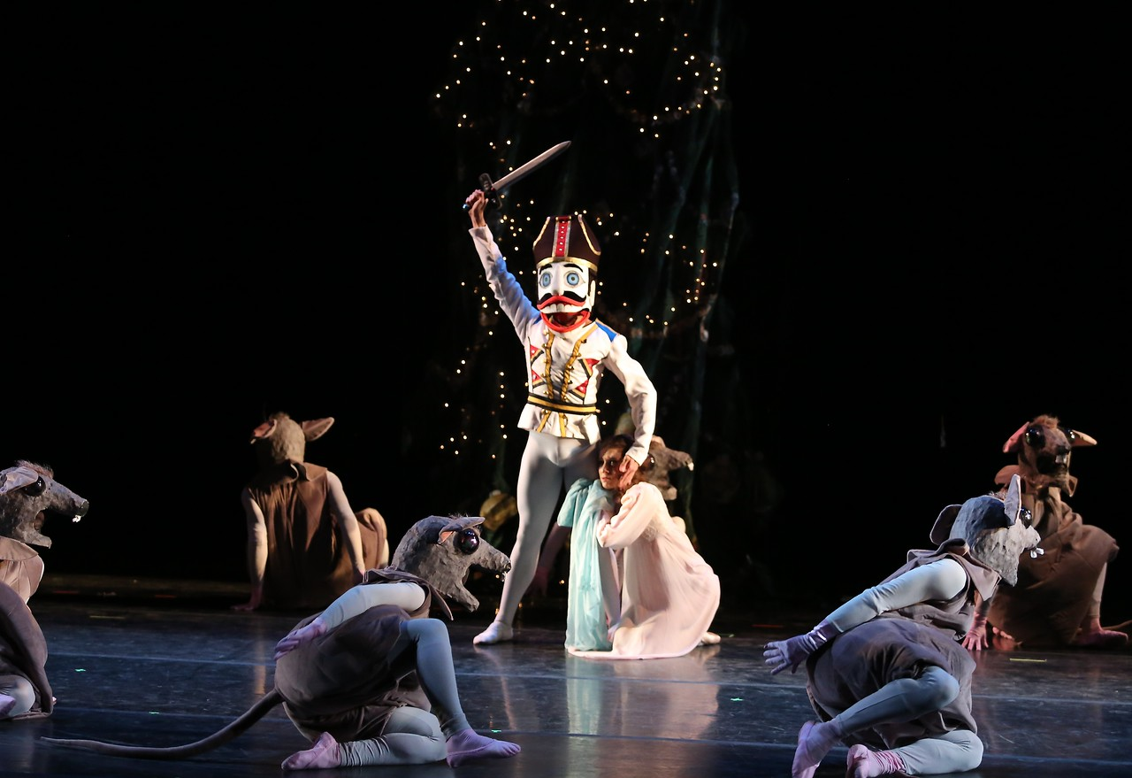 Michelle Katcher and Johnny Almedia, Gelsey Kirkland Ballet Nutcracker