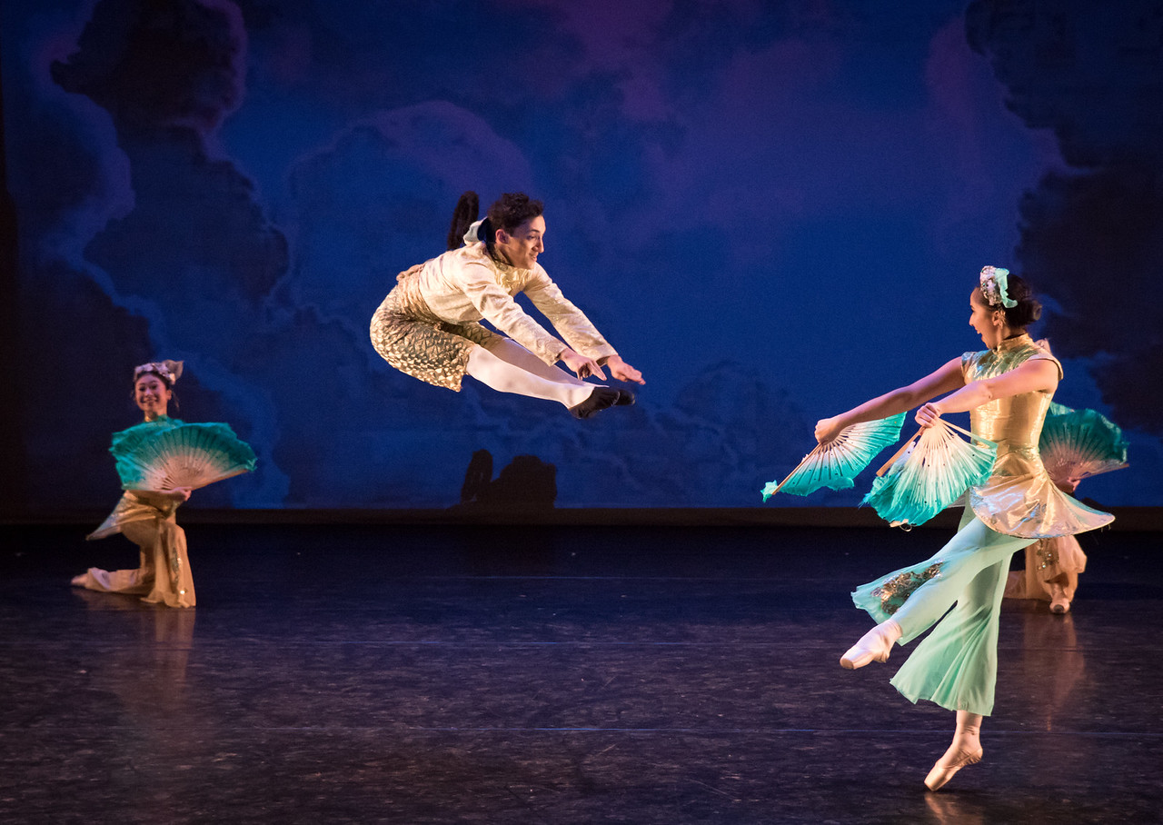 John Lefkowitz and Amanda Hwang, Gelsey Kirkland Academy of Classical Ballet, December 2017