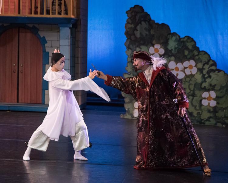 Anderson Souza and Micheal Chernov, Harlequinade, Gelsey Kirkland Ballet, May 21, 2016