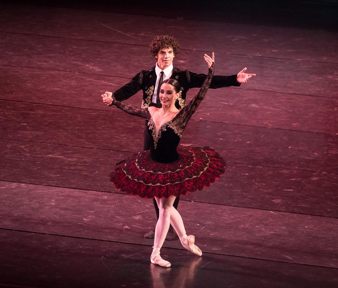 Tamara Rojo and Isaac Hernandez, Don Quixote, Youth America Grand Prix, April 14, 2017
