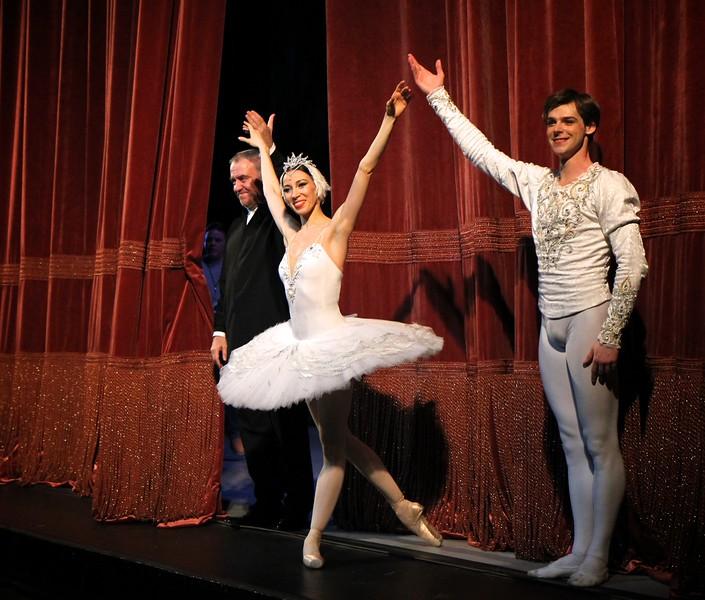 Valery Gergiev, Viktoria Tereshkina, Vladimir Shklyarov, Mariinsky Ballet, Swan Lake, January 15, 2015