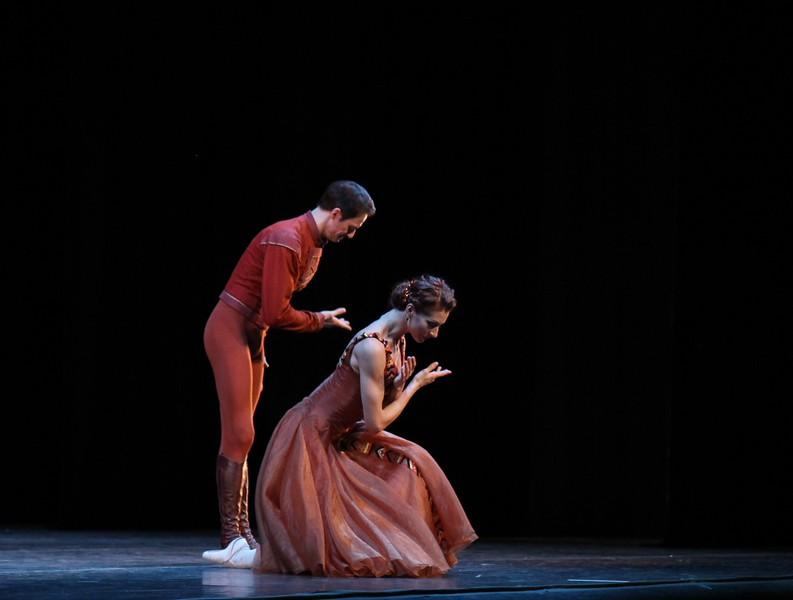 Yekaterina Kondaurova and Yevgeny Ivanchenko, Mariinsky Ballet, In the Night, January 24, 2015