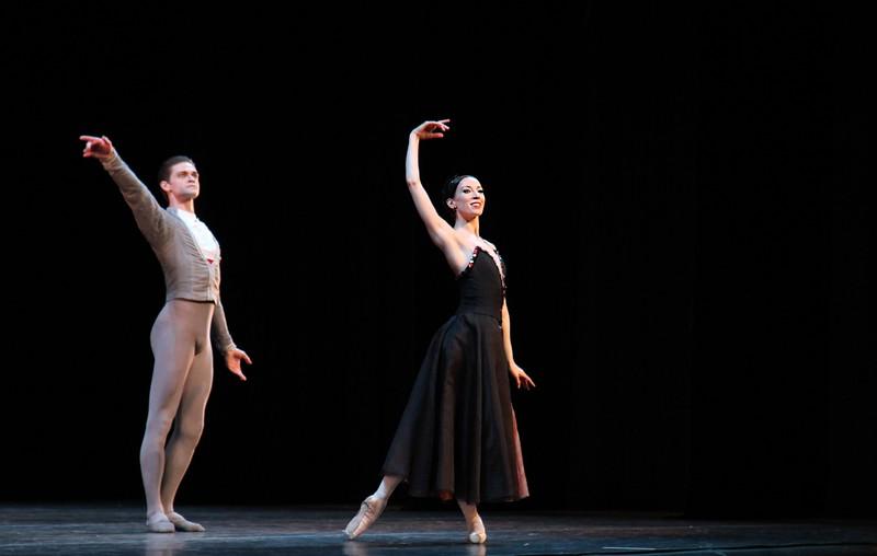 Viktoria Tereshkina and Yuri Smekalov, Mariinsky Ballet, In the Night, January 24, 2015