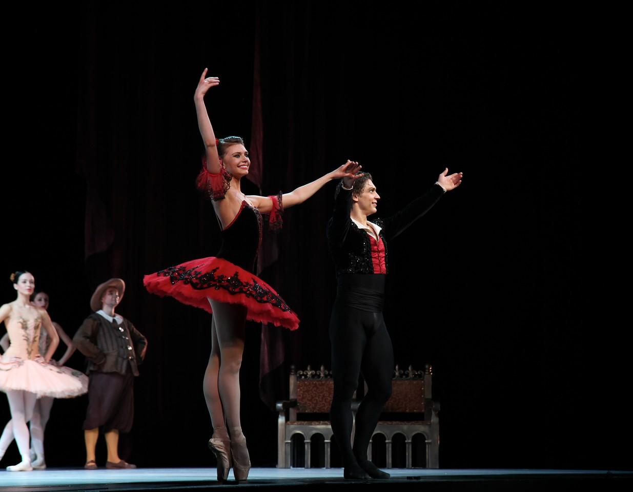 Oksana Bondareva and Ivan Vasiliev, Don Quixote, November 22, 2014