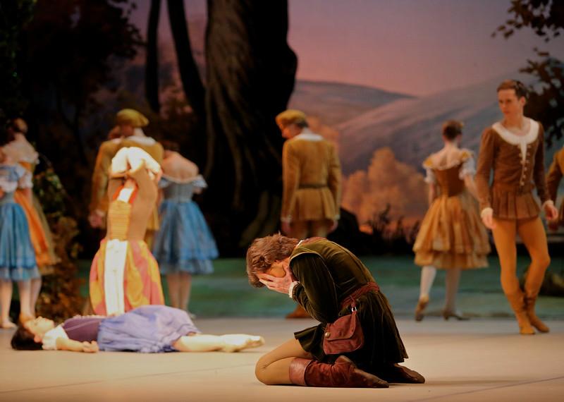 Vladimir Tsal, Mikhailovsky Ballet, Giselle, November 11, 2014