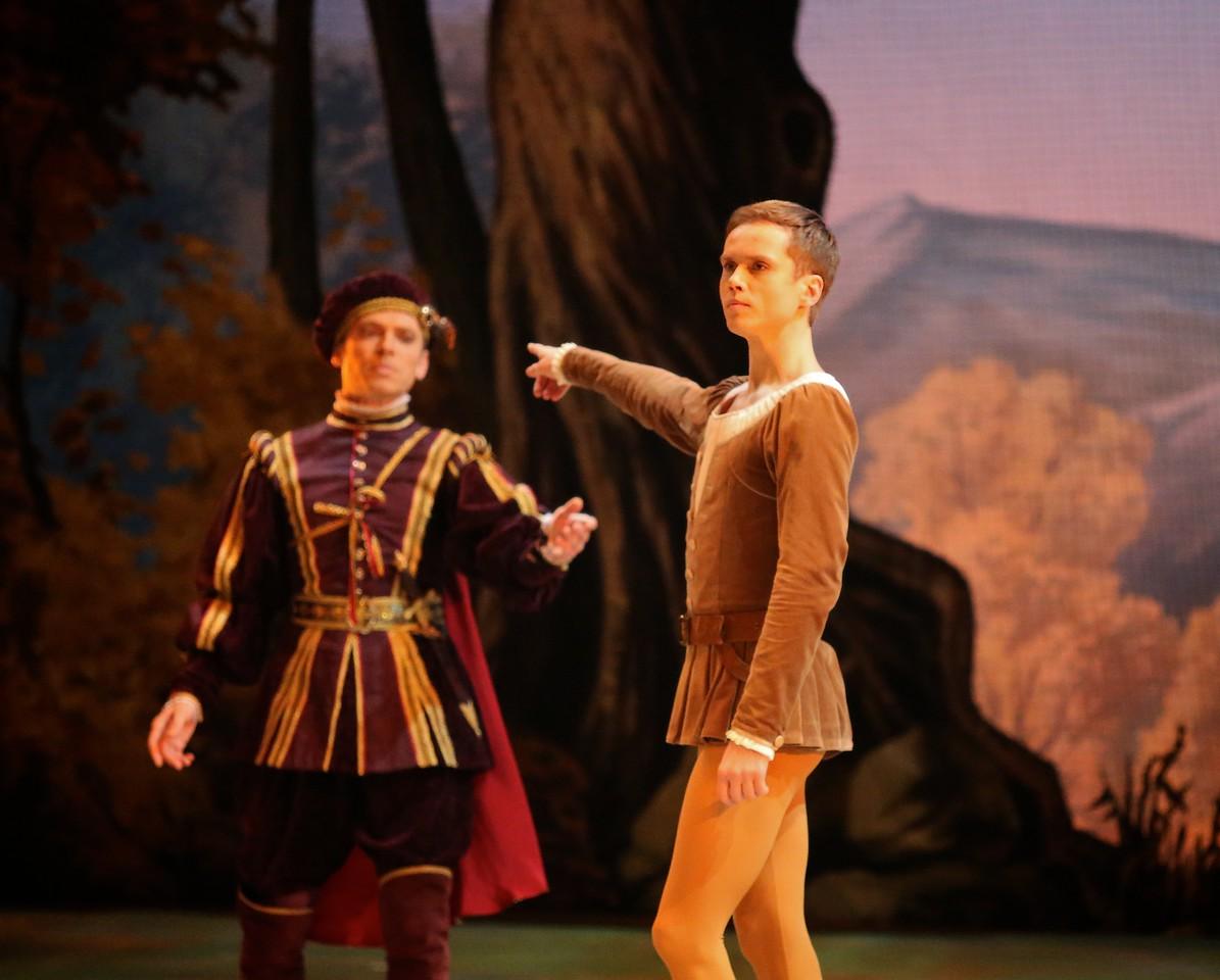 Leonid Sarafanov and Roman Petukhov, Mikhailovsky Ballet, Giselle, November 11, 2014