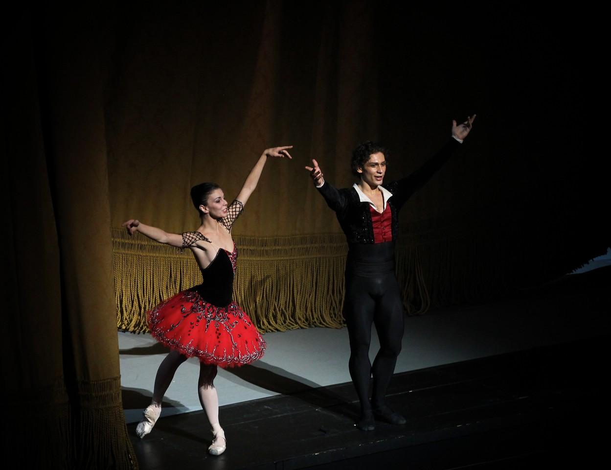 Natalia Osipova and Ivan Vasiliev, Don Quixote, November 20, 2014