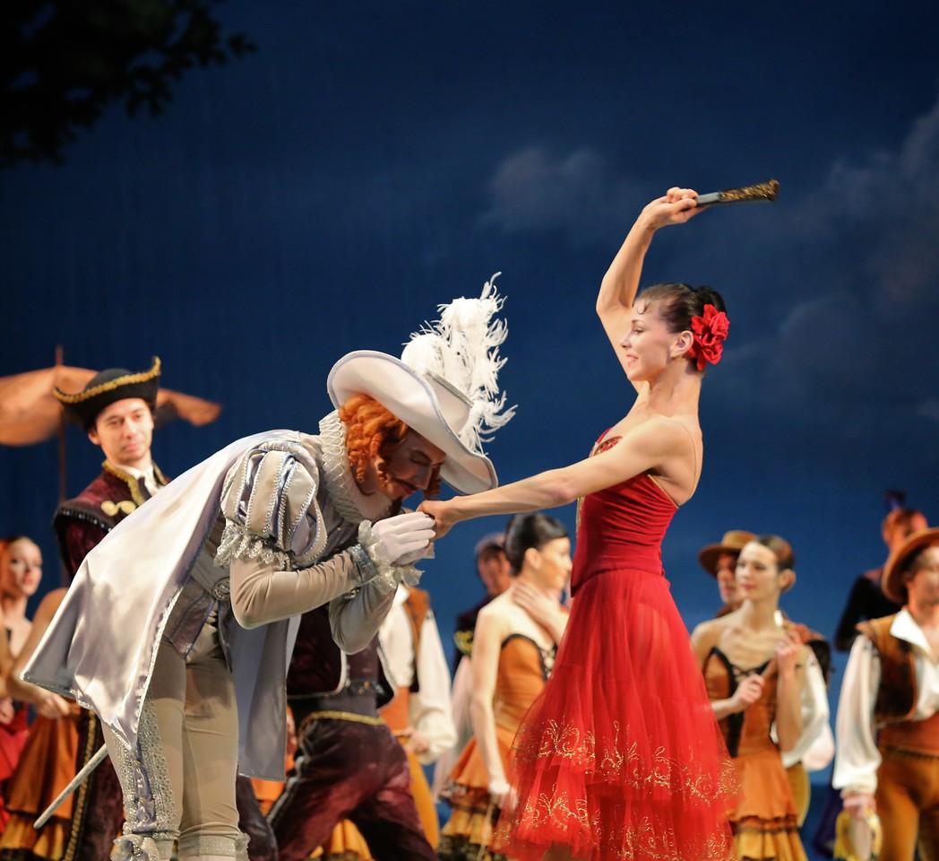 Pavel Maslennikov and Natalia Osipova, Don Quixote, November 20, 2014