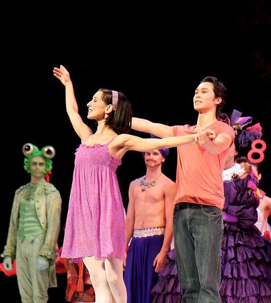 Sonia Rodriguez and Naova Ebe, National Ballet of Canada, Alice's Adventures in Wonderland, September 12, 2014