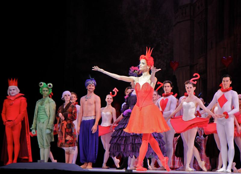 Svetlana Lunkina, National Ballet of Canada, Alice's Adventures in Wonderland, September 12, 2014