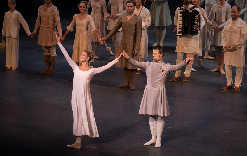 Hannah Fischer and Piotr Stanczyk, National Ballet of Canada, The Winter's Tale, July 28, 2016