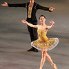 Vanessa Zahorian, Classical Symphony, San Francisco Ballet, October 18, 2013<br /> <br /> For me, seeing San Francisco Ballet Friday at the David Koch Theater was like going to a new restaurant and not having any idea what to expect. The old standbys (ABT and New York City Ballet) are like Columbus Avenue restaurants that I frequent before performances and can recite the menu by memory. For San Francisco Ballet, except for Maria Kochetkova and Sophiane Sylve, I hadn't seen any of the dancers before and was not familiar with any of the newly created mixed rep pieces performed that evening. Happy to report that I liked my dishes that night and hope San Francisco Ballet makes a return trip.<br /> <br /> First was Alexei Ratmansky's From Foreign Lands (2013), a dance suite with six pieces representing dances from various countries: Russia, Italy, Germany, Spain, Poland, and Hungary. Most of the pieces had four dancers; my favorite was the Italian dance in which Pascal Molat had a nice series of turns in second position, switching focus from front, side, back, side, and back in front. The Spanish dance with two couples was also interesting with high-energy, playful dancing throughout. It was fun to watch, but not the best Ratmansky work.<br /> <br /> Mark Morris's Beaux (2012) defies Balanchine's philosophy women should be the focus of any ballet. The piece has nine men wearing military camouflage patterned unitards, in un-military pink, yellow, and red colors designed by Isaac Mizrahi. Not sure of the symbolism but there are many possibilities. The men dance below a large painting in this motif to classical chamber music by Bohuslav Martinů dominated by the harpsichord. The nine men dart in and out in various formations in this modern piece, generally in trios. The steps were generally basic, but combined in a tightly wrapped package. Some partnering took place among the men and in several sections two dancers supported a dancer imitating a glider. Following the patterns and group dynamics developed by the men was intriguing; their short bursts on stage followed by another trio was like multiple shifts used by hockey teams.<br /> <br /> My favorite pieces of the night were Classical Symphony (2010) and Symphonic Dances (2012). Yuri Possokhov choreographed Classical Symphony set to music by Prokofiev. It opens with a nice classical pas de deux from lead couple Vanessa Zahorian and Gennadi Nedvigin. I enjoyed his double tours to a grand plié (reminded me of Vladimir Malakhov as Lankedam in Le Coursaire), brisé volé, and pirouettes. Vanessa had a nice fouetté section that changed focus, similar to Pascal Molat's section above. They made a nice pair with several intricate partnering sections.<br /> <br /> Former New York City Soloist Edwaard Liang choreographed Symphonic Dances to music by Rachmaninov. The work, which premiered in 2012, featured the wonderful dancing of Sofiane Sylve, a former New York City Ballet Principal Dancer who left for San Francisco in 2009. She was elegant, even glamorous with her great classical technique and line. She was richly supported by Tiit Helimets. Several times, Sylve danced alone and Tiit rushed from off stage to support her on turns or a lift.<br /> <br /> The piece featured two other couples, Yuan Yuan Tan and Luke Ingham, and Maria Kochetkova and Vitor Luiz. In addition, there were eight corps dancers in red that moved in and out of the action with the principal couples, dressed in a tan color. The action was a bit too busy at times and unfocused.