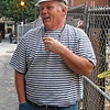 September 2009 - John Neidermeyer, Intech construction manager, on Latimer Street