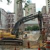 August 2009 - Excavation progresses