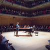 "Composer Katarina Kramarchuk introducing ""Winter Winds"" - commissioned for the Curtis On Tour and performed here in Calderwood Hall at the Isabella Stewart Gardner Museum in Boston, March 16, 2014."