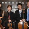 Haeji Kim, Stephen Kim, , Will  Chow and Stephan Tavani<br /> Beethoven Opus 18, No. 2