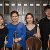 Laura Park, Alexandra Switala, Young In Na, Kunbo Xu<br /> Beethoven Opus 18, No. 4