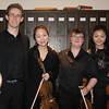 Zachary Mowitz, Sung Jin Lee, Abigail Fayette, Angela Sin Ying Chan<br /> Beethoven Opus 18, No 3