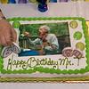 Steve Tenenbom's birthday cake - Ida Kavafian's right hand