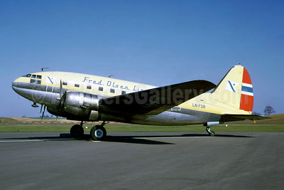 Fred Olsen Lines Curtiss C-46A-45-CU Commando LN-FOR (msn 30252) MMA (Jacques Guillem Collection). Image: 944116.