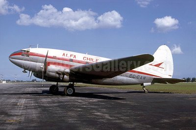 ALFA Chile Curtiss C-46D-10-CU Commando CC-CAM (msn 32936) MIA (Bruce Drum). Image: 105147.