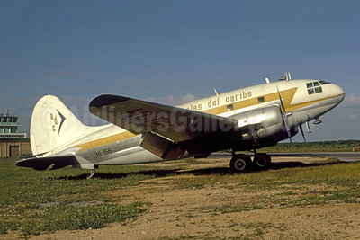 Alas del Caribe - ADC Curtiss C-46A-5-CU Commando HI-156 (msn 26422) SDQ (Bruce Drum Collection). Image: 951583.
