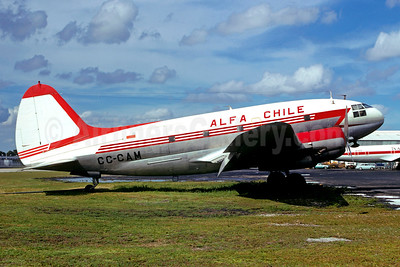 ALFA Chile Curtiss C-46D-10-CU Commando CC-CAM (msn 32936) MIA (Christian Volpati Collection). Image: 947604.