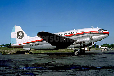 Austral Lineas Aereas Curtiss C-46A-45-CU Commando LV-FSA (msn 30323) AEP (Christian Volpati Collection). Image: 952217.