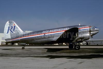 Rich International Airways Curtiss C-46A-60-CK Commando N74173 (msn 289) MIA (Bruce Drum). Image: 103132.