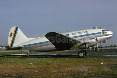Bahamasair Curtiss C-46A-60-CK Commando N355M (msn 471) MIA (Bruce Drum). Image: 102677.