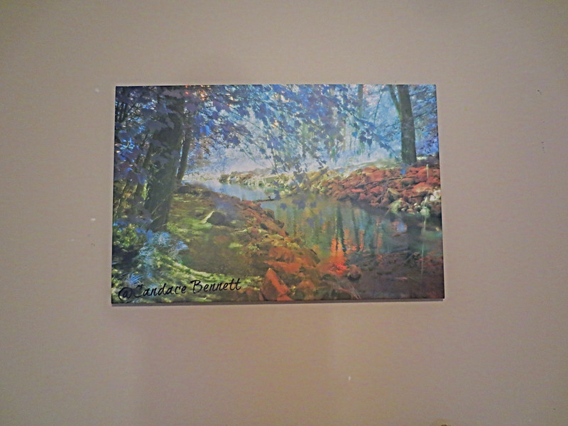 Mermaid Lagoon, wrapped canvas. Size 16x20