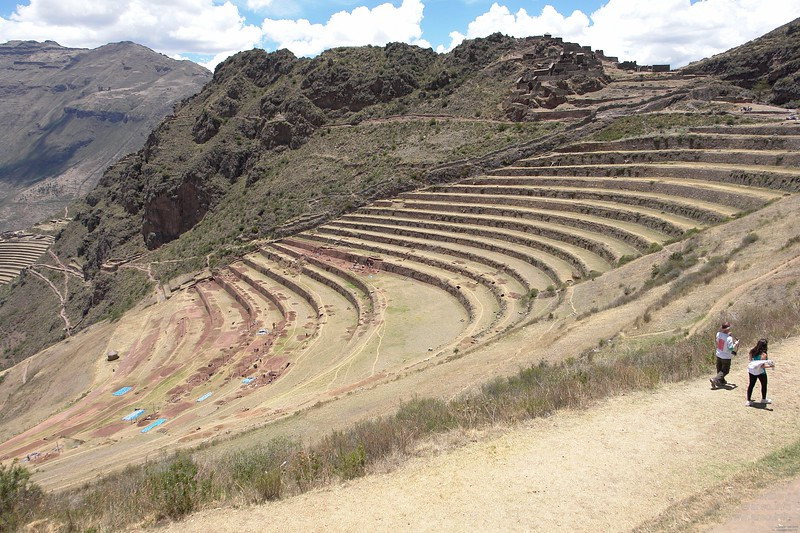 One of the 4 levels of Pisac.
