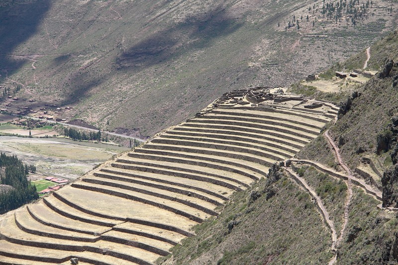 Pisac, other level below.