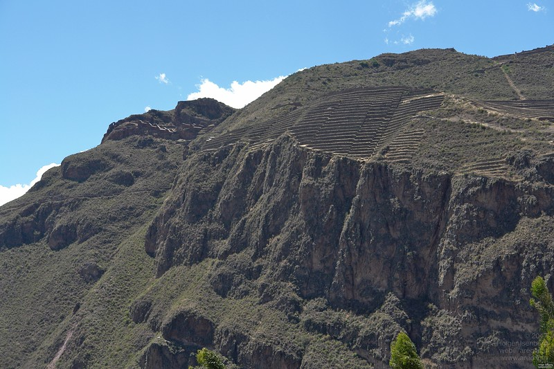 Pisac. Some other level is visible on the upper left.