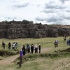 Sacsayhuaman. Only 500m north and 100m above Cusco.