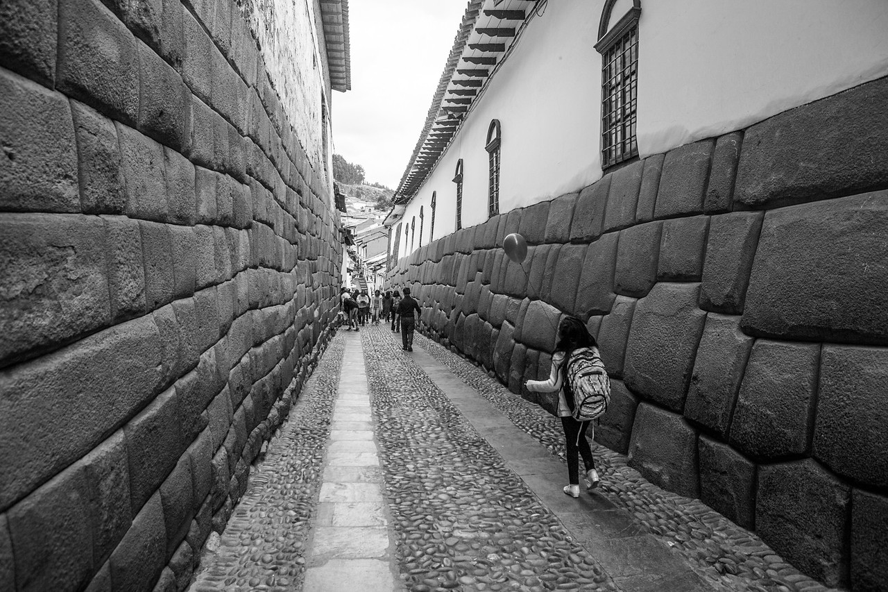 Incan walls in Cusco, Peru