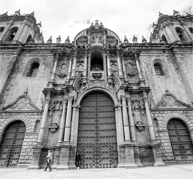 Cathedral of Cusco in Plaza de Armas, Peru