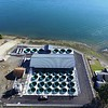 Tacoma Power's Saltwater Park Sockeye Hatchery on Hood Canal in Mason County, Wash. The hatchery is part of the Cushman Hydro Project.