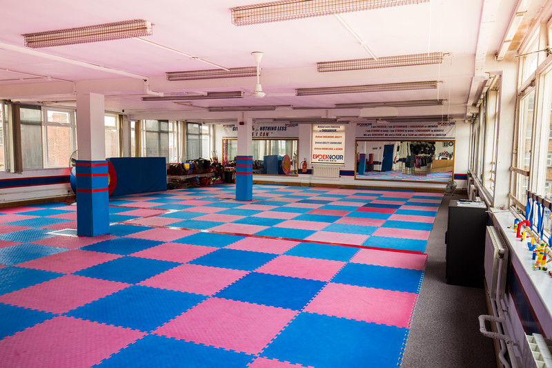 Open plan top floor office space