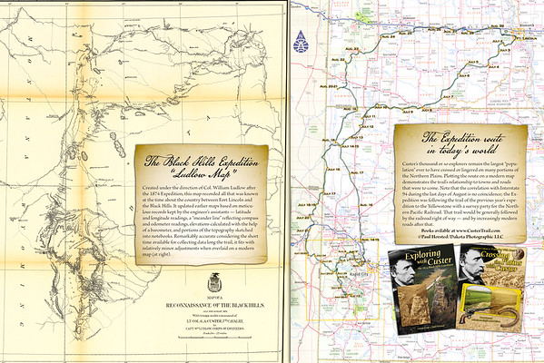 """1874 Map & """"Today"""""""