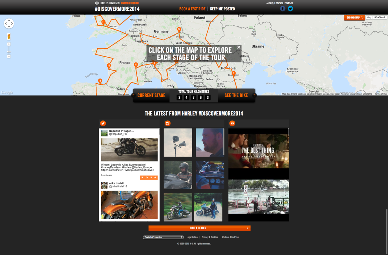 Discover More Harley Davidson United Kingdom