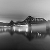 Monaca-Beaver Railroad Bridge in the Fog