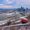 The Classic Pittsburgh Winter Scene