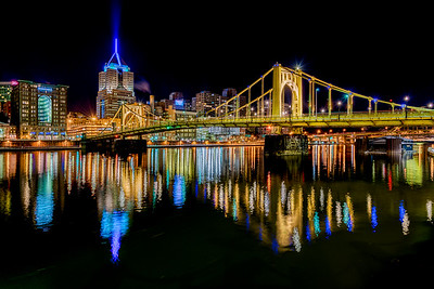 Pittsburgh - crystal clear night
