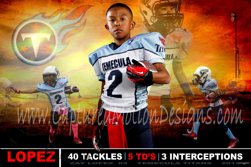 Football design, Temecula Titans