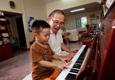 Teaching Piano in Kuala Lumpur, Malaysia