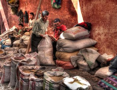 Grain Market, Chichicastenango, Guatemala