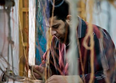 Rug Making, Giza, Egypt