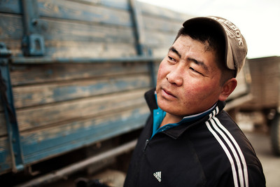 Truck Driver in Mongolia
