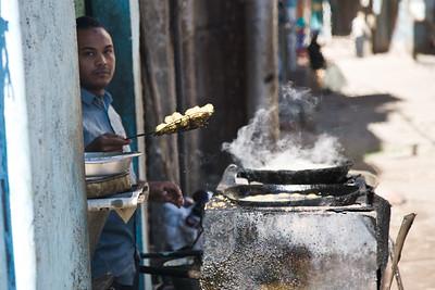 Roadside Falafel Man